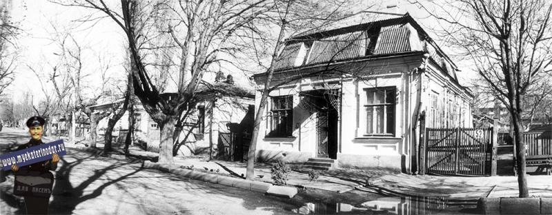Краснодар. Янковского, 52, 1989 год.