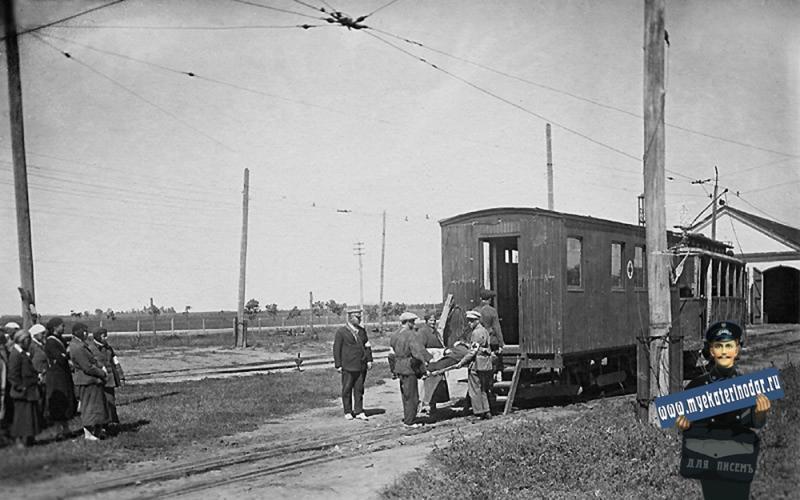Краснодар. Занятия по Гражданской обороне. Северный трамвайный парк.
