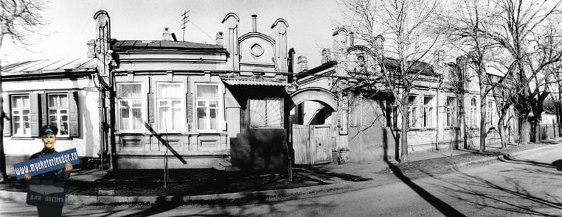 Краснодар. Жилой дом на Фрунзе, 35. 1989 год.
