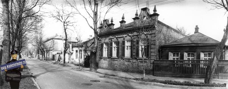 Краснодар. Жилой дом на ул. Чапаева, 143. 1989 год