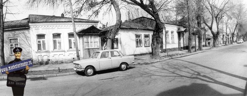 Краснодар. Жилой дом на ул. Янковского, 33/1. 1989 год