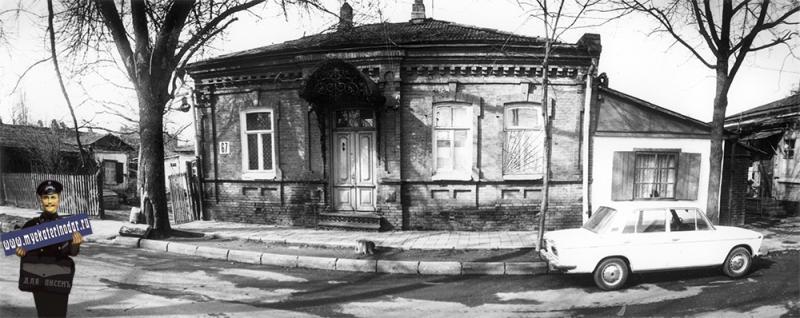 Краснодар. Жилой дом на ул. Янковского, 67, 1989 год