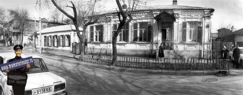 Краснодар. Жилой дом на ул. Янковского, 76, 1989 год