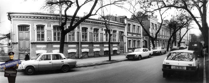 Краснодар. Жилой дом по Комсомольской, 45. 1989 год