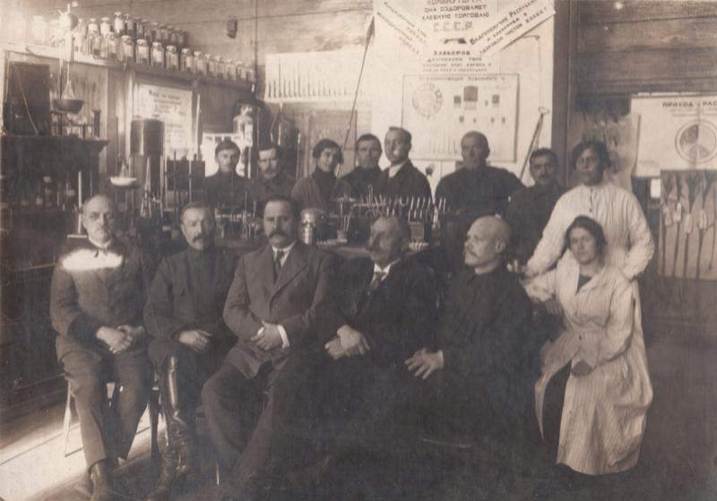 Краснодар. Лаборатория Государственной Хлебной инспекции, 1923 год