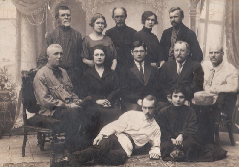 Екатеринодар. Лаборатория Кубчероблпродкома, 1920 год