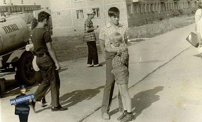 """Краснодар. Микрорайон """"Фестивальный"""", 1972 год."""