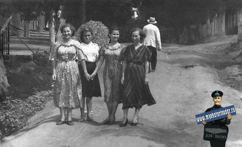 Краснодар. На прогулке, 1924 год