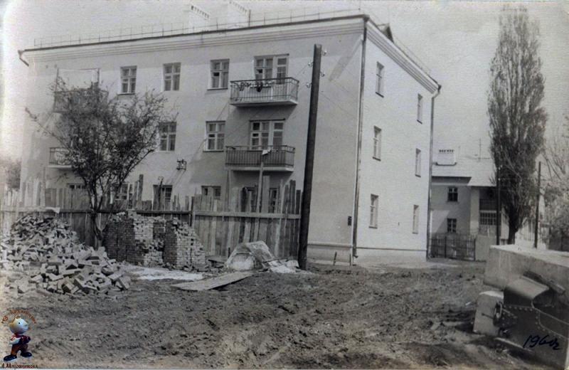 Краснодар. Нефтезаводская улица, дом 8, 1960 год