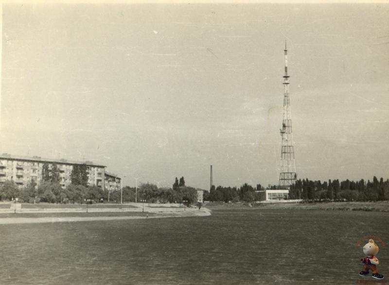 Краснодар. Озеро Карасун, 1979 год