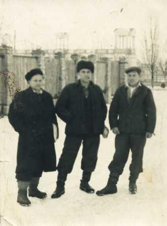 Краснодар. Перекрёсток улиц Красной и Одесской. 50-е годы.