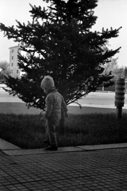 Краснодар. Площадь Октябрьской Революции. 1972 год.