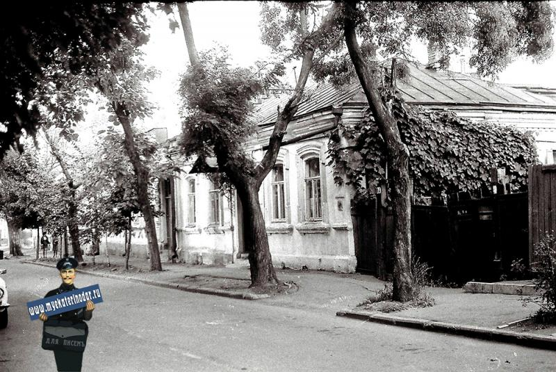 Краснодар. Кирова улица, между ул. Мира и Орджоникидзе, 1978 год