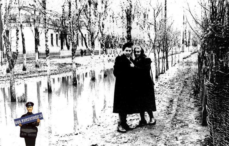 пос.Пашковский, 1957 год