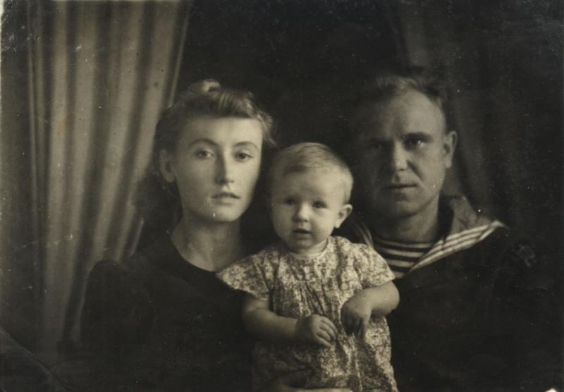Краснодар. Семья Чекмаревых, 1946 год