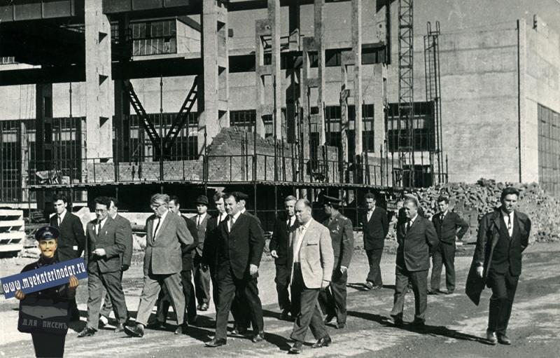 Краснодар. Завод Седина, 1972 год