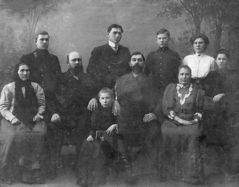 Екатеринодар. Семья Приказчиковых