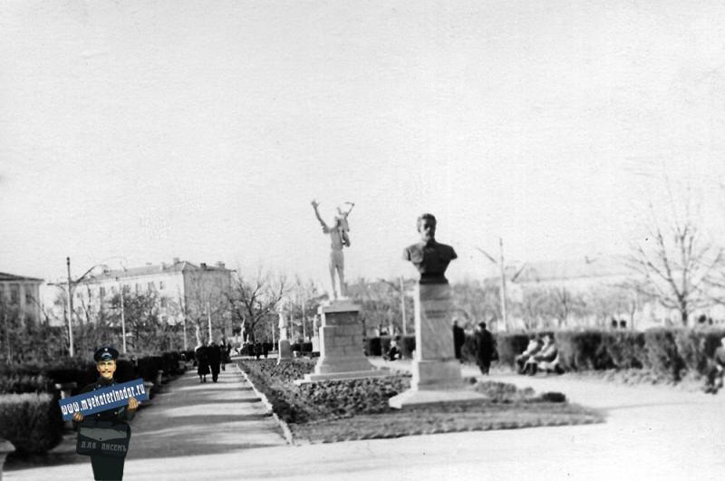 Краснодар. Сквер им. Я.Свердлова, 1964 год