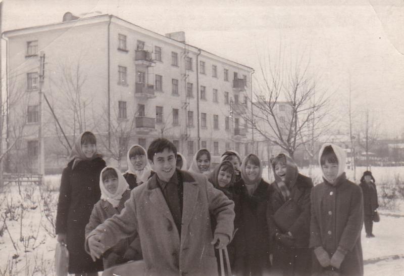 Краснодар. Учащиеся сш № 13, 1968 год