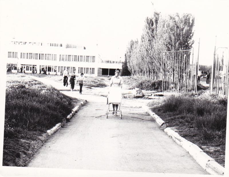 Краснодар. Стадион КубГУ, 1980 год