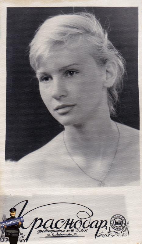 Краснодар. Фотография № 16 ГБК на  К. Либнекхта 75, 1963 год.