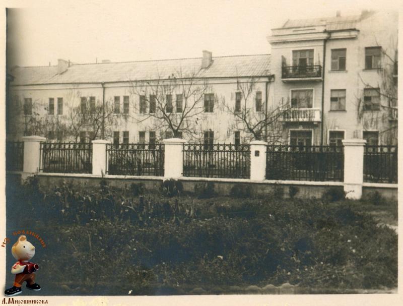 Краснодар. Улица Тельмана, 1965 год.