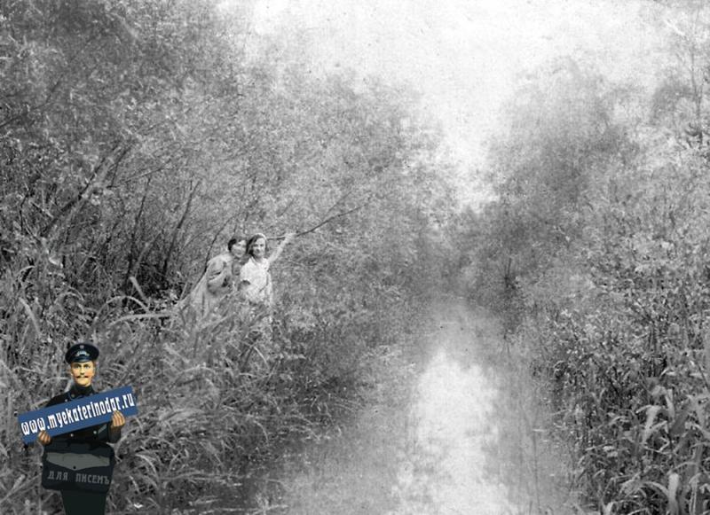 Краснодар. В закубанском лесу. Карасун, май 1926