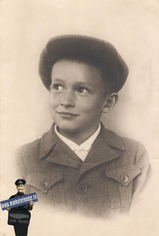 Краснодар. Владимир Тарапатин, 1945 год