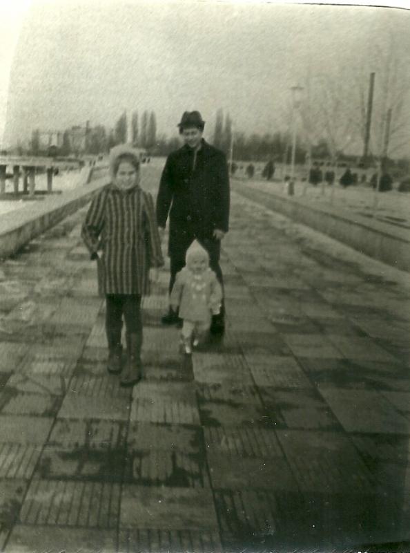 Краснодар. На Затоне, 1979 год.