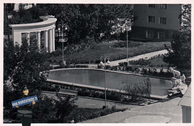 "Дивноморск. Санаторий ""Дивноморское"", 1965 год"