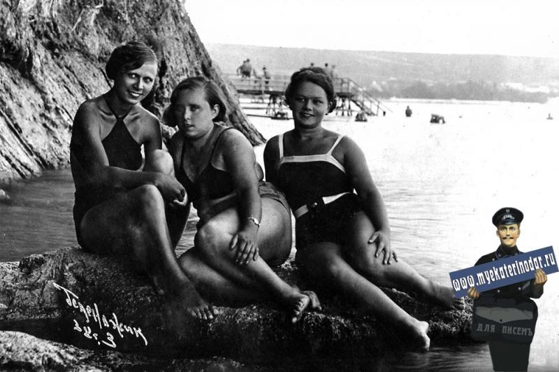 Геленджик. Бархатные скалы. 1938 г.