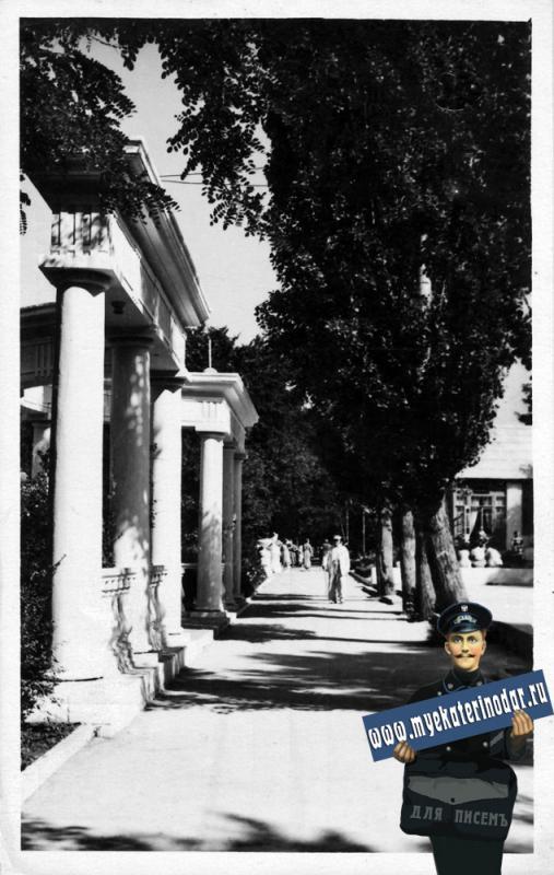 """Геленджик. Дом отдыха """"Приморье"""", 1958 год."""