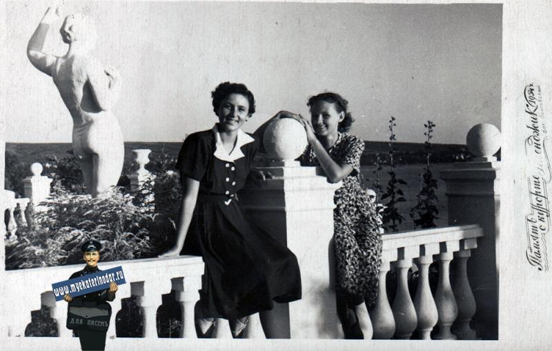 Геленджик. Набережная, 1954 год