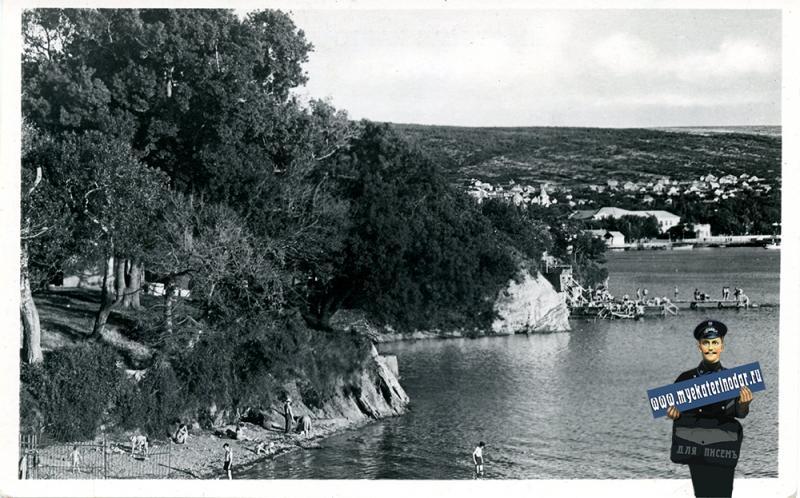 Геленджик. Набережная, около 1962 года