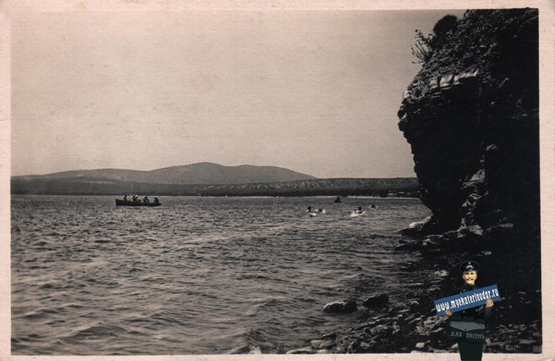 Геленджик. Скалистый берег, 1937 год