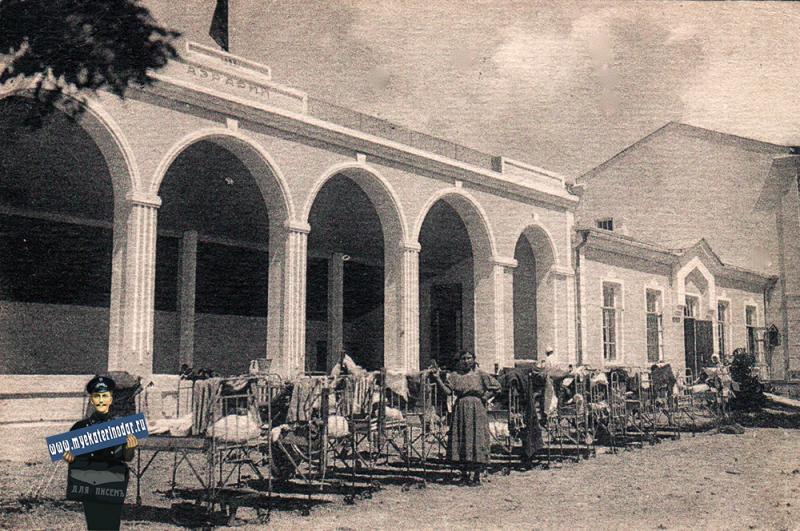 Геленджик. Тонкий мыс. Детский дом Аэрари, 1928 год