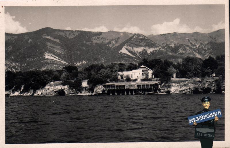 Геленджик. Вид на Мархотский хребет, 1958 год