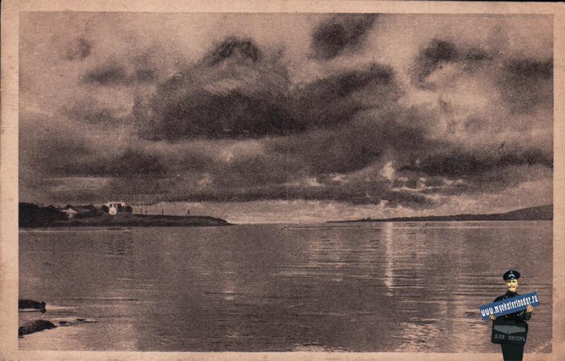 Геленджик. Закат солнца, около 1927 года