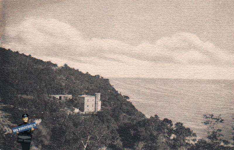 Кабардинка. Вид на Черное море, 1930-е (?)