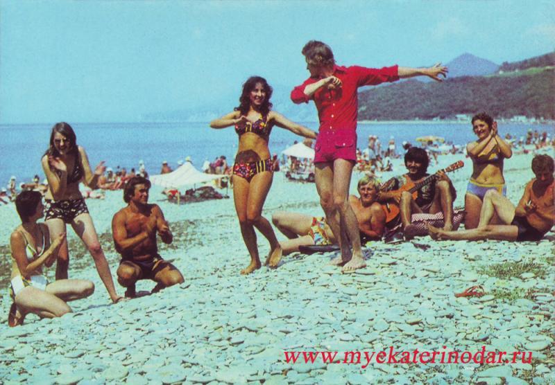 Криница. Спортивно-оздоровительный лагерь Кубанского сельхозинститута. 1977 год