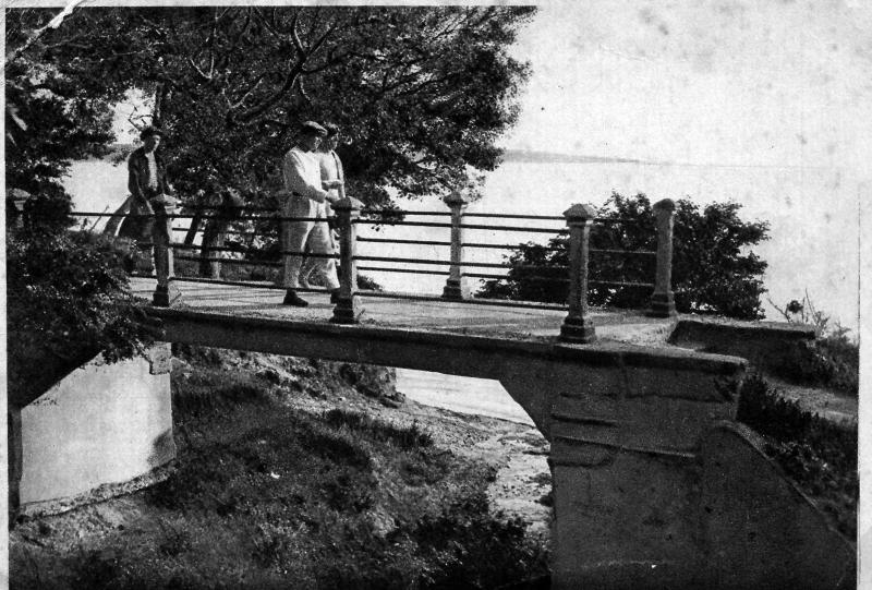 Геленджик. Лермонтовский мостик, 1934 год