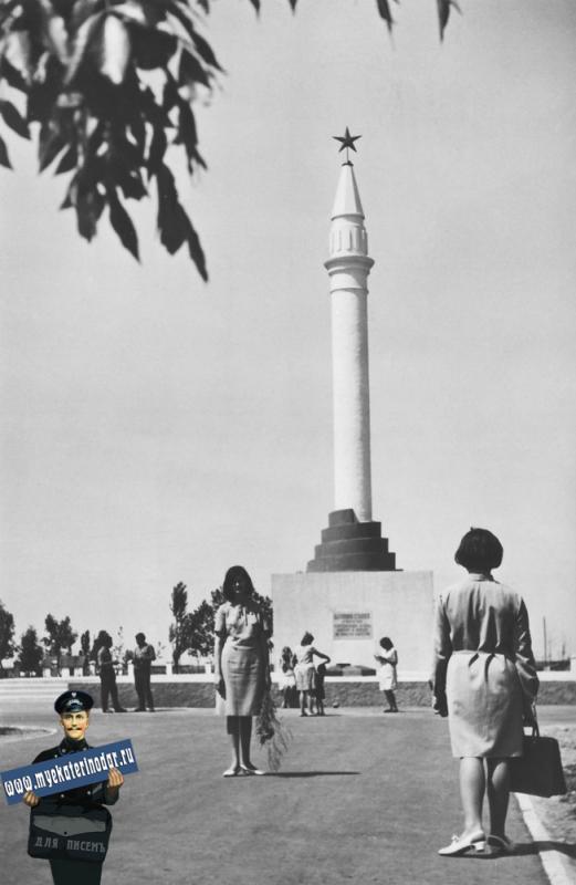 Майкоп. Памятник героям гражданской войны.