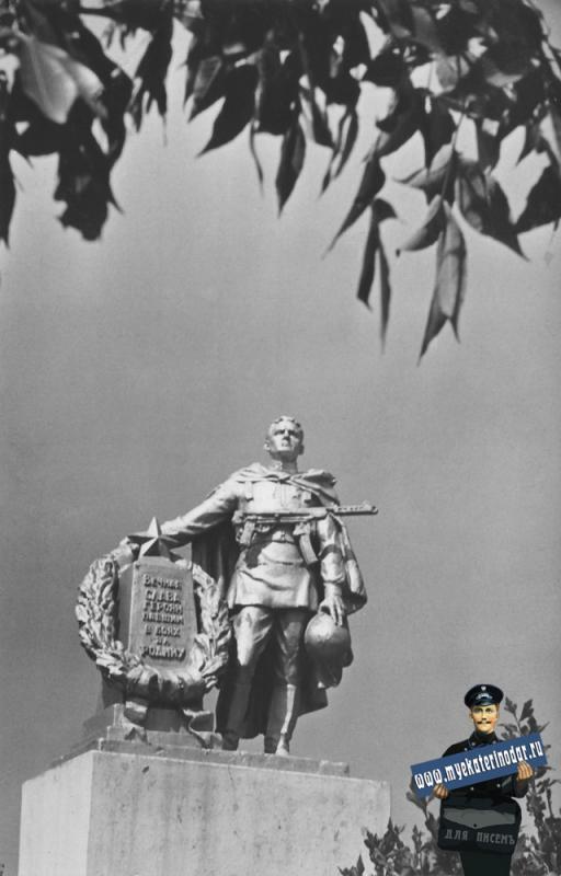 Майкоп. Памятник героям Великой Отечественной войны.