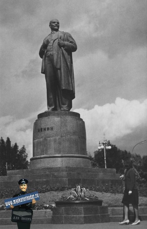 Майкоп. Памятник Ленину