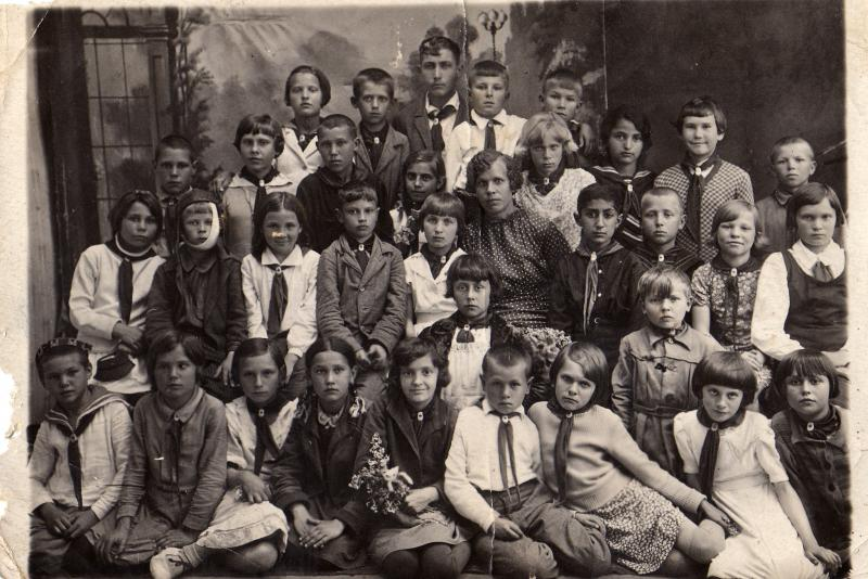 Новороссийск. Школа № 18, 1938 год