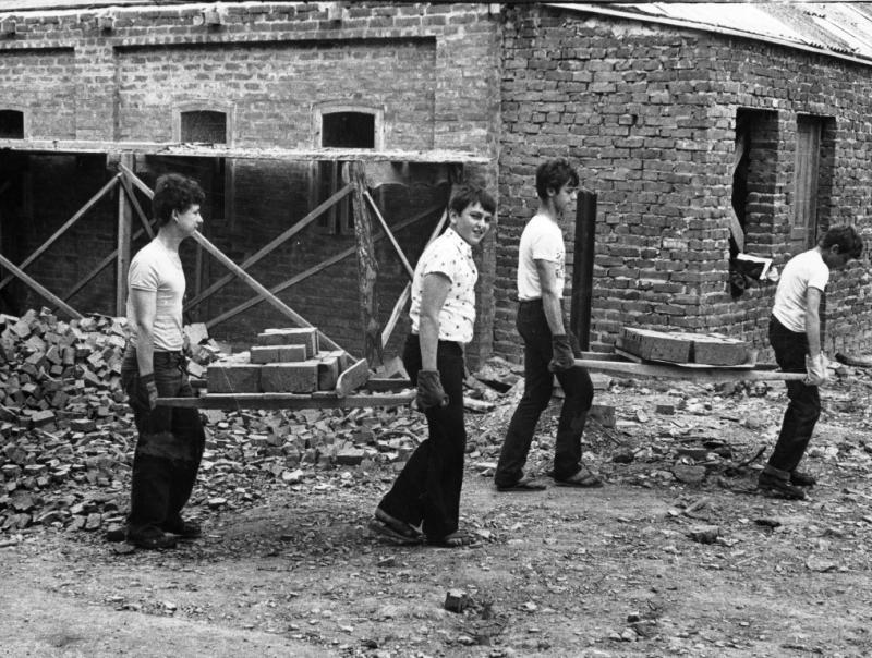 Новороссийск. Дом-музей имени Н.Островского, 1979 год