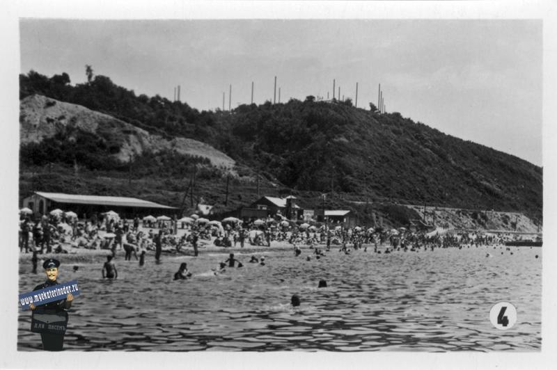 04. Туапсе. Городской пляж, 1965 год