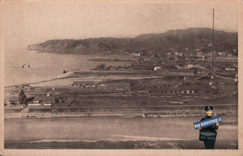 Туапсе. Общий вид, около 1927 года