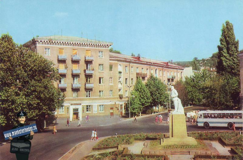 Туапсе. Памятник В.И.Ленину, 1976 год