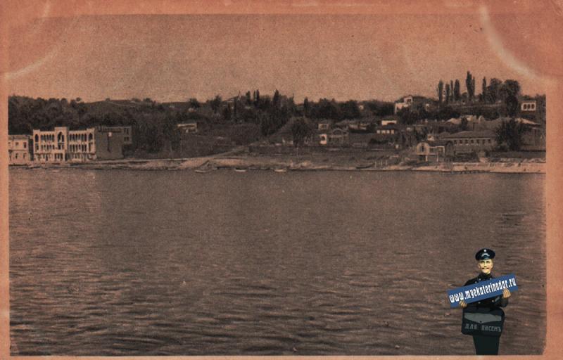 Туапсе. Вид с моря, около 1927 года